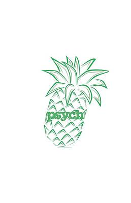 Shawn Digital Art - Psych - Pineapple by Brand A