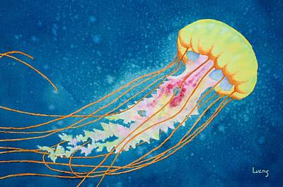 Psychadelic Jelly Original by Jeff Lucas