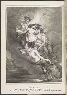 Depictions Of Nudity Photograph - Psyche by British Library