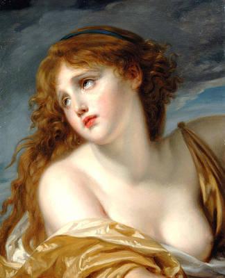 Painting - Psyche by Jean-Baptiste Greuze
