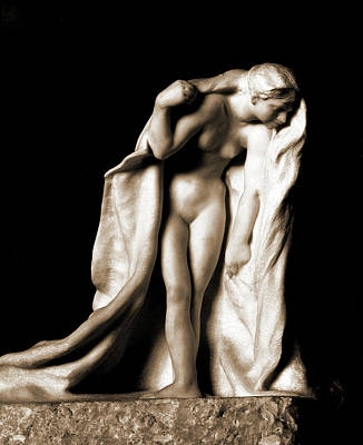 Deity Drawing - Psyche, Psyche Greek Deity, Sculpture by Litz Collection