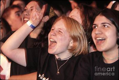 Photograph - Psyched Concert Fan by Concert Photos
