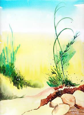 Psychedelic Art Print by Anil Nene