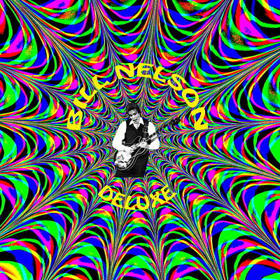 Photograph - Psychedelic Bill Nelson Deluxe by Ben Upham