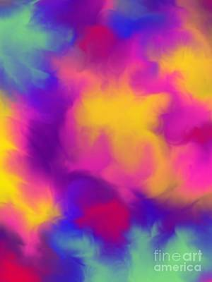 Digital Art - Psychedelic Camo  by Mohala Johnson