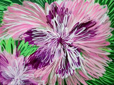 Painting - Psychedelic Flower by J Linder