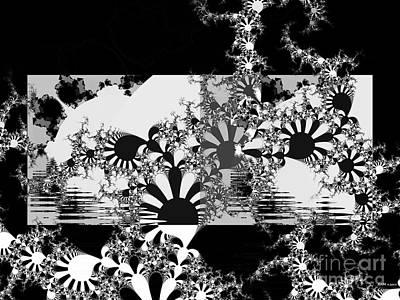 Nursery Rhyme Digital Art - Psychedelic Garden by Elizabeth McTaggart
