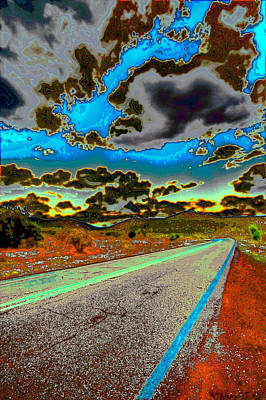 Photograph - Psychedelic Highway by David Patterson