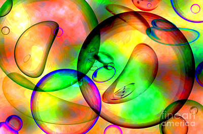 Digital Art - Psychedelic by Kaye Menner