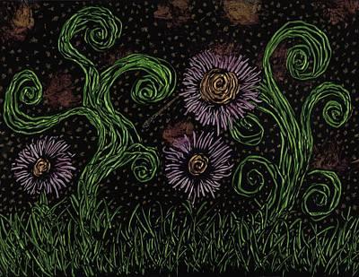 Psychedelic Landscape Original