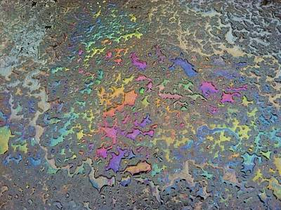 Psychedelic Parking Lot Art Print