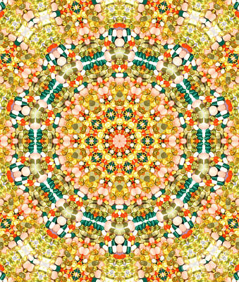 Abstract Pattern Photograph - Psychedelic Pattern by Jose Elias - Sofia Pereira