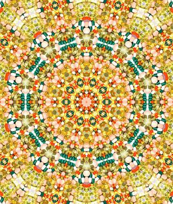 Psychedelic Pattern Art Print by Jose Elias - Sofia Pereira