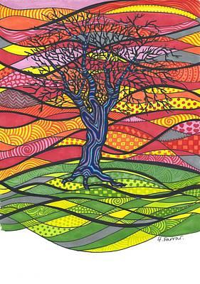 Psychedelic Tree Original