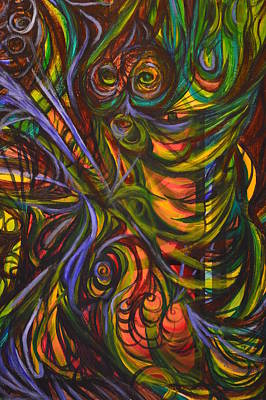 Intergalactic Painting - Psychedelica by Night Maher