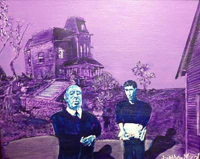 Painting - Psycho Set by Jonathan Morrill