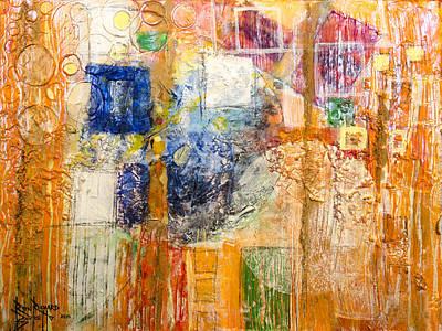 Psychogenesis Art Print by Ron Richard Baviello