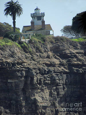 Photograph - Pt. Fermin Lighthouse by Bonnie Muir