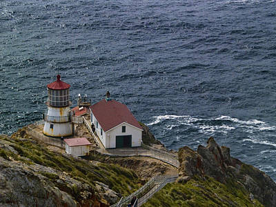 Pt Reyes Lighthouse Print by Bill Gallagher