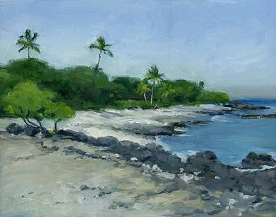Haleiwa Painting - Puako Cove by Stacy Vosberg