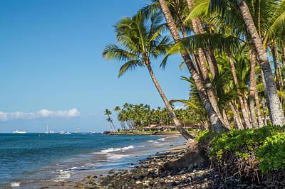 Puamana Maui Print by Pierre Leclerc Photography