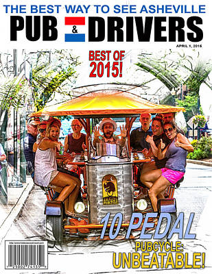 Digital Art - Pub And Drivers Magazine by John Haldane