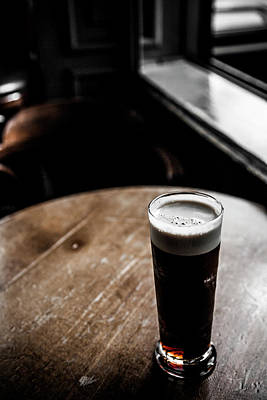 Pub Photograph - Pub Detail by Carlos Sanchez Pereyra