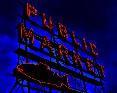 Photograph - Public Market by Benjamin Yeager