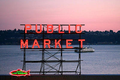 Photograph - Public Market by CarolLMiller Photography