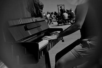 Photograph - Public Music by Frederico Borges