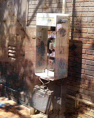 Photograph - Public Phone by John Noel