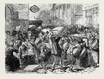 Publishing Journals In Paris 1873 Art Print