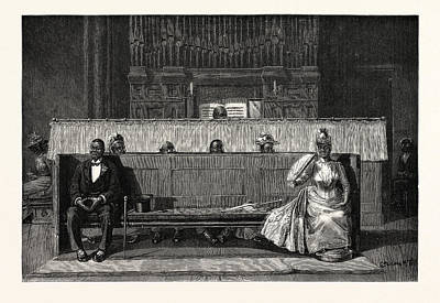 West Indies Drawing - Publishing The Banns In The West Indies For The First Time by English School