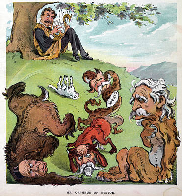 Puck Cartoon, 1905 Art Print by Granger