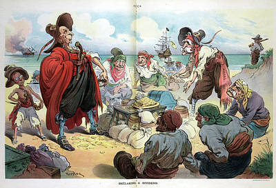 Puck Cartoon, 1906 Art Print by Granger