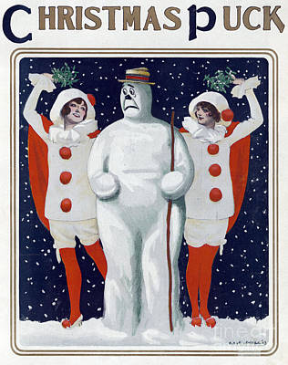 Photograph - Puck Christmas 1913 by Science Source