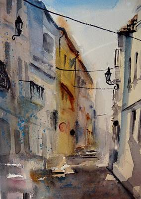Painting - Pucol Spain by Sandra Strohschein