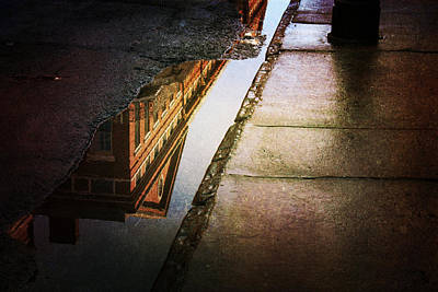 Photograph - Puddles Of The Past by Heather Green