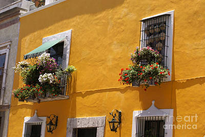 Photograph - Puebla House Mexico by John  Mitchell