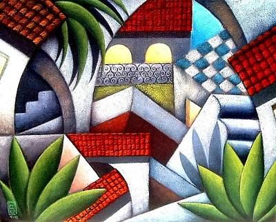 Pueblito Lindo Original by Marco Garcia