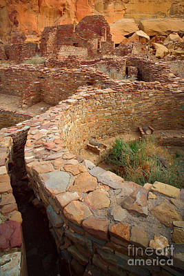 Kiva Photograph - Pueblo Bonito by Inge Johnsson