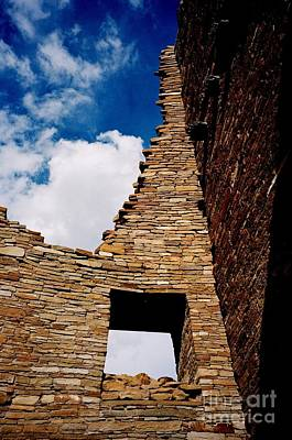 Photograph - Pueblo Bonito New Mexico by Jacqueline M Lewis