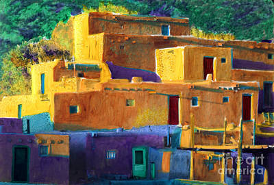 Painting - Pueblo City 1 by Cindy McIntyre