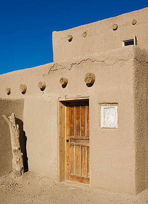Photograph - Pueblo Doorway by Marilyn Hunt
