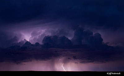 Photograph - Pueblo Lightning by Jeff Niederstadt