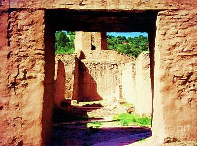 Photograph - Pueblo Passage by Desiree Paquette