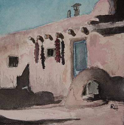 Painting - Pueblo by Rachel Hames