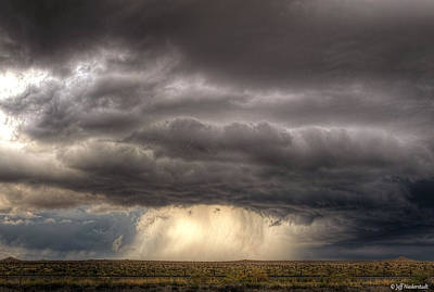 Photograph - Pueblo Supercell by Jeff Niederstadt