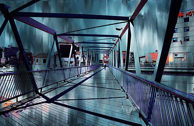 Puente De La Trinidad 1. Malaga Bridges. Spain Art Print by Jenny Rainbow