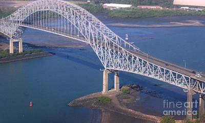 Photograph - Puente De Las Americas Panama 1 by Rudi Prott